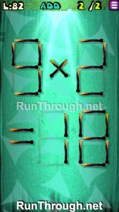 Matches Puzzle Episode 2 Level 82 Walkthrough