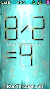 Matches Puzzle Episode 2 Level 88 Walkthrough
