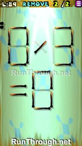 Matches Puzzle Episode 2 Level 89 Walkthrough