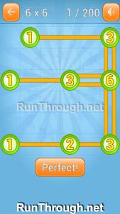 Linky Dots Walkthrough 6x6 Level 1