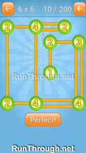 Linky Dots Walkthrough 6x6 Level 10