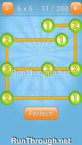 Linky Dots Walkthrough 6x6 Level 11