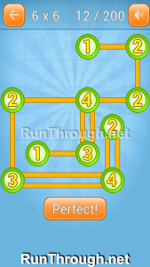 Linky Dots Walkthrough 6x6 Level 12