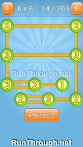 Linky Dots Walkthrough 6x6 Level 14