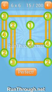 Linky Dots Walkthrough 6x6 Level 15