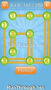 Linky Dots Walkthrough 6x6 Level 161
