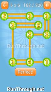 Linky Dots Walkthrough 6x6 Level 162