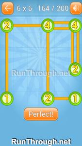 Linky Dots Walkthrough 6x6 Level 164