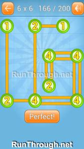 Linky Dots Walkthrough 6x6 Level 166