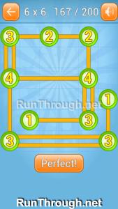 Linky Dots Walkthrough 6x6 Level 167