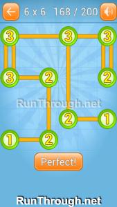 Linky Dots Walkthrough 6x6 Level 168