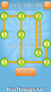 Linky Dots Walkthrough 6x6 Level 169
