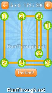 Linky Dots Walkthrough 6x6 Level 172
