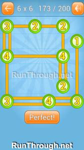 Linky Dots Walkthrough 6x6 Level 173