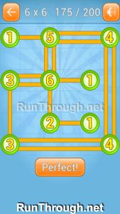Linky Dots Walkthrough 6x6 Level 175