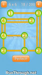 Linky Dots Walkthrough 6x6 Level 18