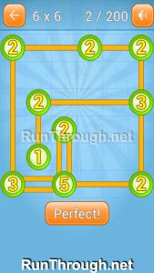 Linky Dots Walkthrough 6x6 Level 2