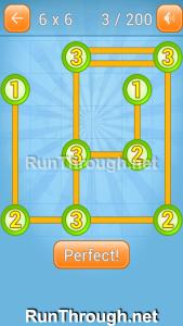 Linky Dots Walkthrough 6x6 Level 3