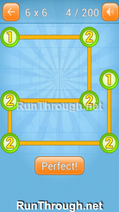 Linky Dots Walkthrough 6x6 Level 4