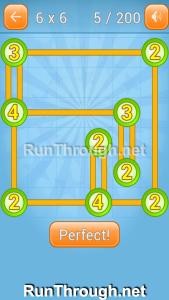 Linky Dots Walkthrough 6x6 Level 5