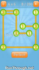 Linky Dots Walkthrough 6x6 Level 8