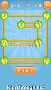 Linky Dots Walkthrough 6x6 Level 9