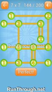 Linky Dots Walkthrough 7x7 Level 144