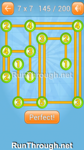 Linky Dots Walkthrough 7x7 Level 145