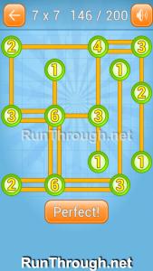 Linky Dots Walkthrough 7x7 Level 146
