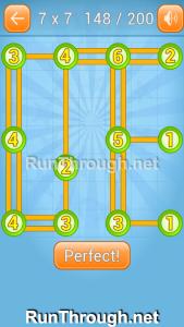 Linky Dots Walkthrough 7x7 Level 148