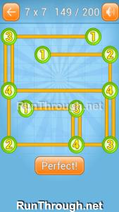 Linky Dots Walkthrough 7x7 Level 149