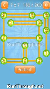 Linky Dots Walkthrough 7x7 Level 150