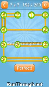 Linky Dots Walkthrough 7x7 Level 152