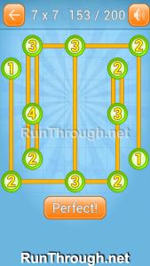 Linky Dots Walkthrough 7x7 Level 153