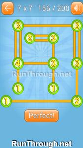 Linky Dots Walkthrough 7x7 Level 156