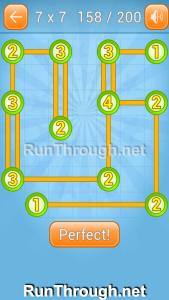Linky Dots Walkthrough 7x7 Level 158