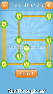 Linky Dots Walkthrough 7x7 Level 159
