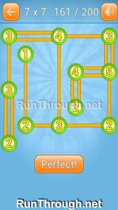 Linky Dots Walkthrough 7x7 Level 161