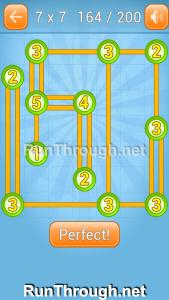 Linky Dots Walkthrough 7x7 Level 164