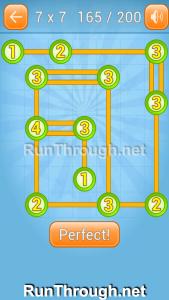 Linky Dots Walkthrough 7x7 Level 165