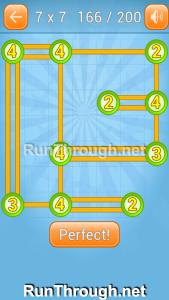 Linky Dots Walkthrough 7x7 Level 166