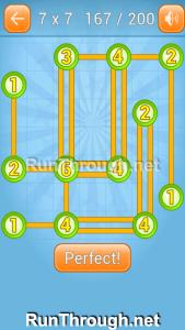 Linky Dots Walkthrough 7x7 Level 167