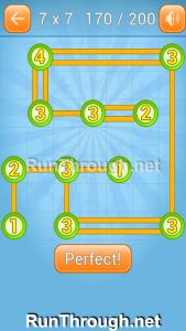 Linky Dots Walkthrough 7x7 Level 170