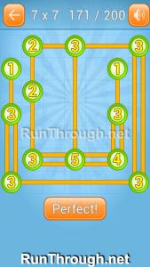 Linky Dots Walkthrough 7x7 Level 171
