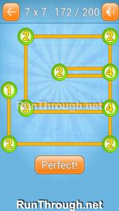 Linky Dots Walkthrough 7x7 Level 172
