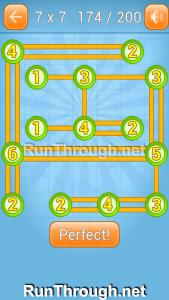 Linky Dots Walkthrough 7x7 Level 174