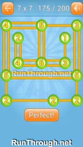Linky Dots Walkthrough 7x7 Level 175