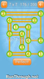 Linky Dots Walkthrough 7x7 Level 176