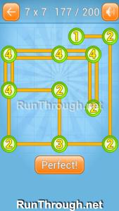 Linky Dots Walkthrough 7x7 Level 177