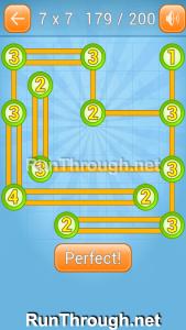 Linky Dots Walkthrough 7x7 Level 179